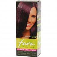 Крем-краска для волос «Fara Natural Color» тон 322, баклажан.
