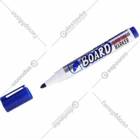 Маркер для магнитных досок, синий.