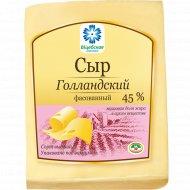 Сыр «Голландский брусковый» 45%, 1 кг, фасовка 0.4-0.5 кг