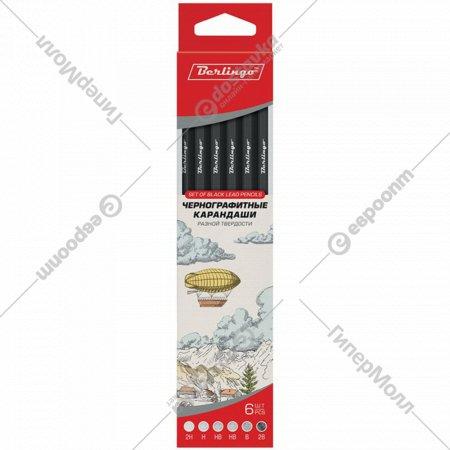 Набор чернографитных карандашей