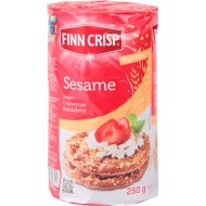 Хлебцы «Finn Crisp» Пшеничные с кунжутом, 250 г.