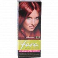 Крем-краска для волос «Fara Natural Color» тон 327, дикая вишня.