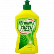 Средство для мытья посуды «Morning Fresh» лимон 450 мл.