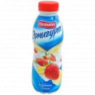 Напиток йогуртный «Эрмигурт» клубника и банан, 1.2%, 420 г.