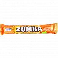 Вафельный батончик «Zumba» с посыпкой апельсин, 40 г.