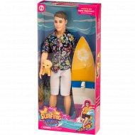 Кукла «Кен» с аксессуарами.