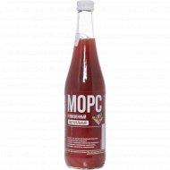 Морс «Домашние рецепты» клюквенный, 0.5 л.