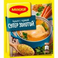 Бульон «Maggi» куриный супер золотой 75 г.