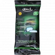 Чистящие салфетки «Zala» для автомобильных окон и зеркал, 24 шт.