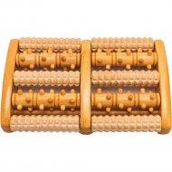 Массажер «Bradex» KZ 0485, деревянный, роликовый