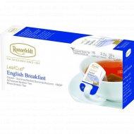 Чай черный «Ronnefeldt» английский завтрак, 15 пакетиков.
