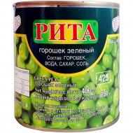 Горошек зеленый «Rita» консервированный, 400 г.