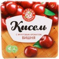 Кисель «Ягодная полянка» с фруктовым ароматом вишня, 220 г.