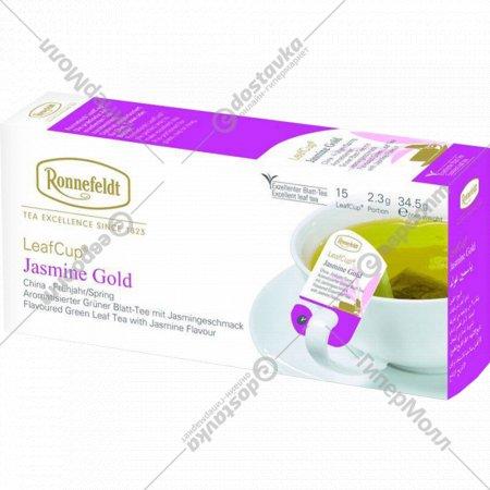 Чай зеленый «Ronnefeldt» жасмин голд, 15 пакетиков.
