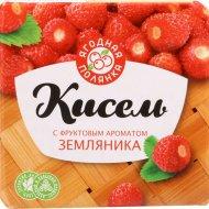 Кисель «Ягодная полянка» с фруктовым ароматом земляника, 220 г.
