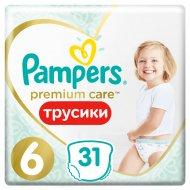 Трусики «Pampers» Premium Care, размер 6, 15+ кг, 31 шт.