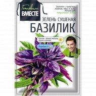 Базилик зелень сушеная «Готовим вместе» 8 г.