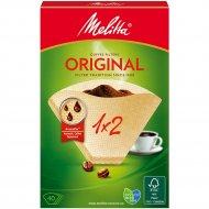 Комплект фильтров для кофе «Melitta» размер 2, 40 шт.