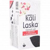 Чай черный «Kali laska» байховый с яблоком и шиповником, 25 шт