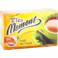 Чай «Tea Moment» черный, 100 пакетиков.