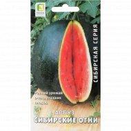 Семена «Арбуз сибирские огни» 15 шт.