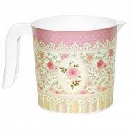 Кружка-кувшин с декором «Чайная роза» 1 л, 281065.