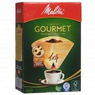 Комплект фильтров для кофе «Melitta» Gourmet, размер 4, 80 шт.