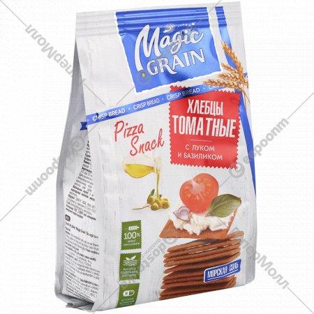 Хлебцы «Magic Grain» томатные, с луком и базиликом, 90 г.