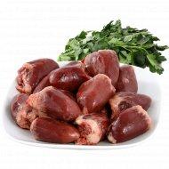 Сердце индейки 1 кг., фасовка 0.4-0.5 кг