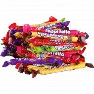 Конфеты жевательные палочки «Топителла» 1 кг., фасовка 0.3-0.4 кг