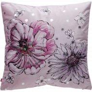 Декоративная наволочка «Home&You» Flowera, 59792-ROZ-P0404