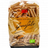 Макаронные изделия №5-70 «Garofalo» Penne Ziti Rigate Integrale, 500г.