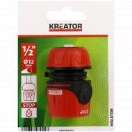 """Переходник для шланга «Kreator» 1/2"""" 4x6 см ."""