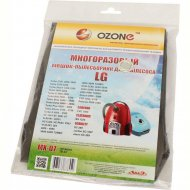 Мешок для пылесоса многоразовый «Ozone» MX-07, 1 шт.