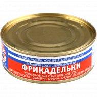 Консервы рыбные «Фрикадельки» в томатном соусе, 230 г.