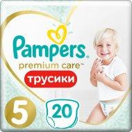 Трусики «Pampers» Premium Care Pants 12-18кг, размер 5, 20 шт.