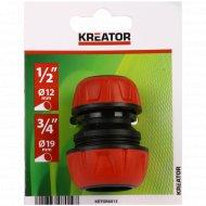 Переходник для шланга «Kreator» KRTGR6013, 4.5x6.5 см .