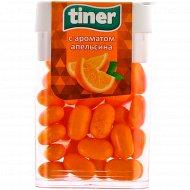 Драже «Tiner» с ароматом апельсина, 16 г.