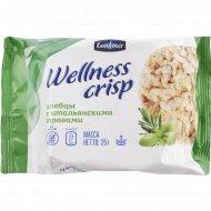 Хлебцы хрустящие «Wellnes Crisp» итальянские травы, 25 г.
