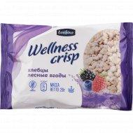 Хлебцы хрустящие «Wellnes Crisp» лесные ягоды, 25 г.
