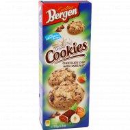 Печенье «Bergen» с фундуком и кусочками шоколада, 135 г.