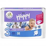 Подгузники для детей «Bella Baby Happy» midi 5-9 кг, 32 шт.