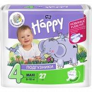 Подгузники для детей «Bella Baby Happy» maxi 8-18 кг, 27 шт.