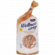 Хлебцы хрустящие «Wellnes Crisp» с отрубями, 100 г.