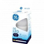 Светодиодная лампа «General Electric» 5.5W P45 827 E14 220-240V 2700k.