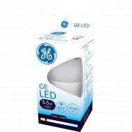 Светодиодная лампа «General Electric» 5.5W P45 827 E27 220-240V 2700k.