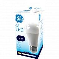 Светодиодная лампа «General Electric» 7W A60 830 220-240V E27 3000k.