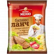 Лапша яичная «Бизнес Ланч» со вкусом говядины, 45 г.