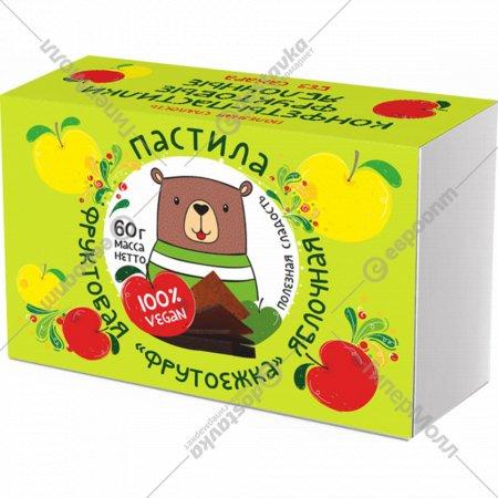 Пастила фруктовая «Фрутоежка» яблочная, 60 г.