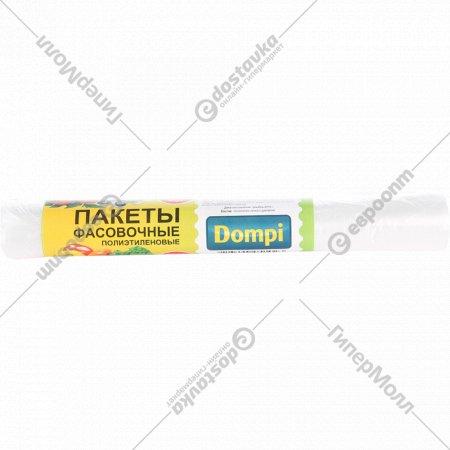 Пакеты фасовочные «Dompi» 100 шт